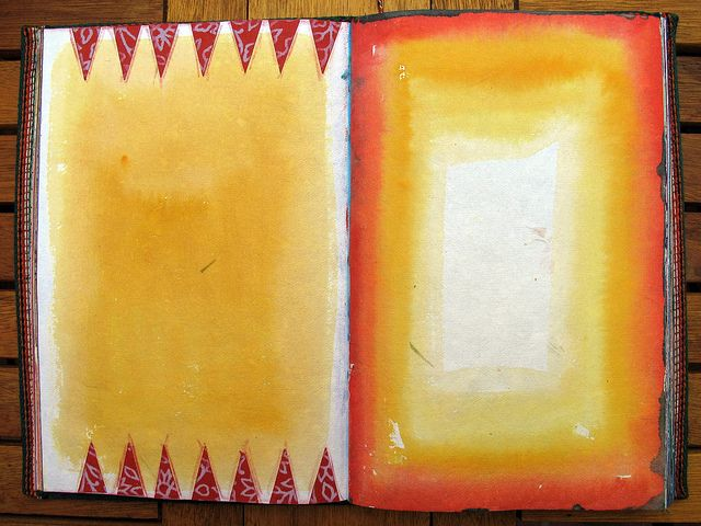 Blank Travel Journal by Phizzychick!, via Flickr