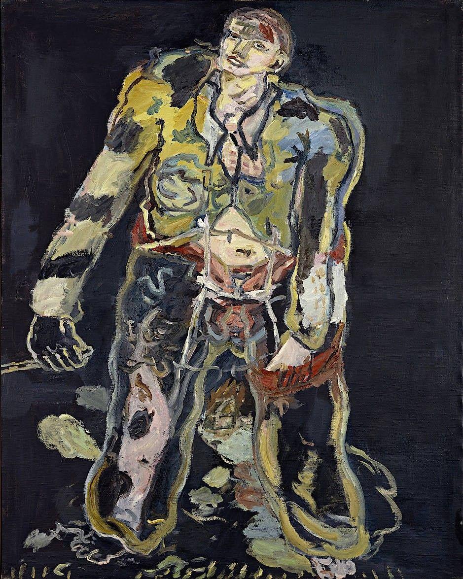 Rebel, 1965, by Georg Baselitz