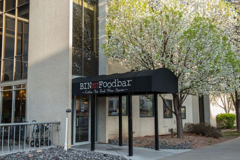 Bin 707 food bar outstanding restaurant in downtown grand