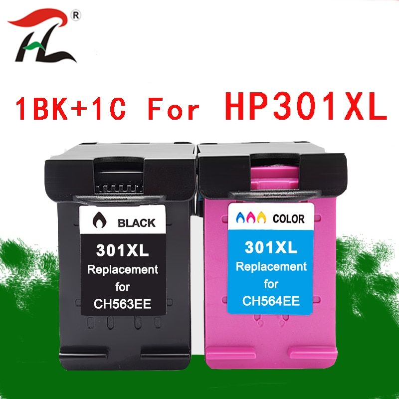 301xl Compatible Ink Cartridge For Hp 301 Hp301 301xl Ch563ee
