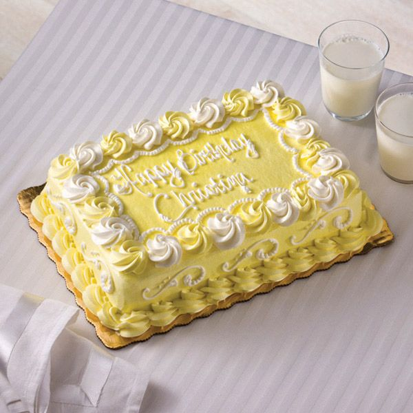 Lemon Chiffon Infusion Cake From Publix Feeds 20 For 24