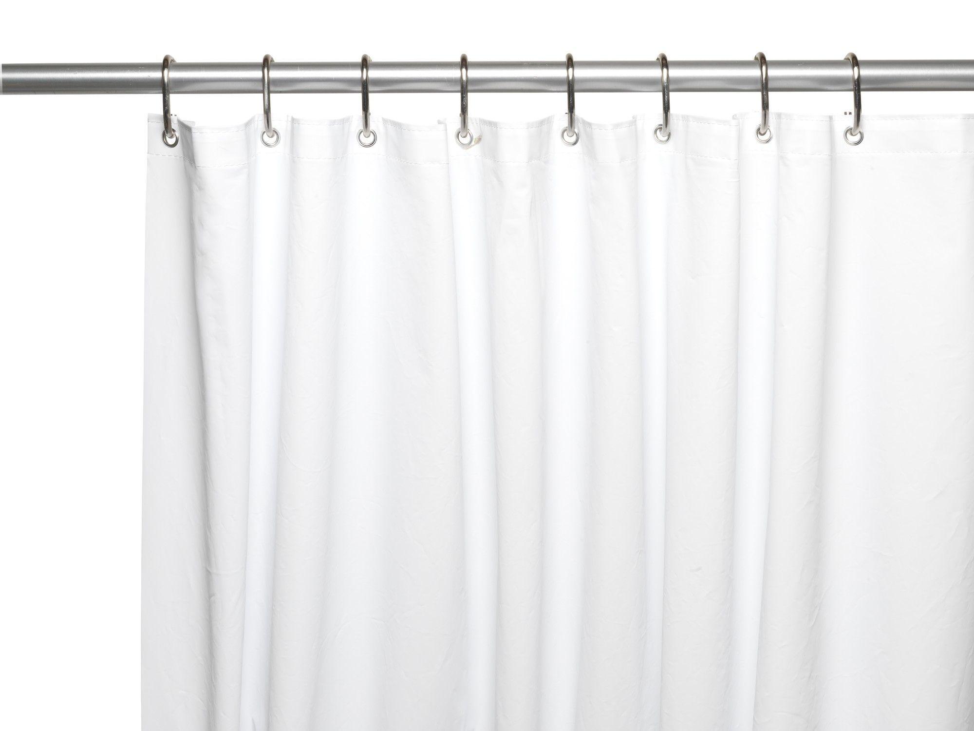 Dareios Peva Single Shower Curtain Liner Vinyl Shower Curtains