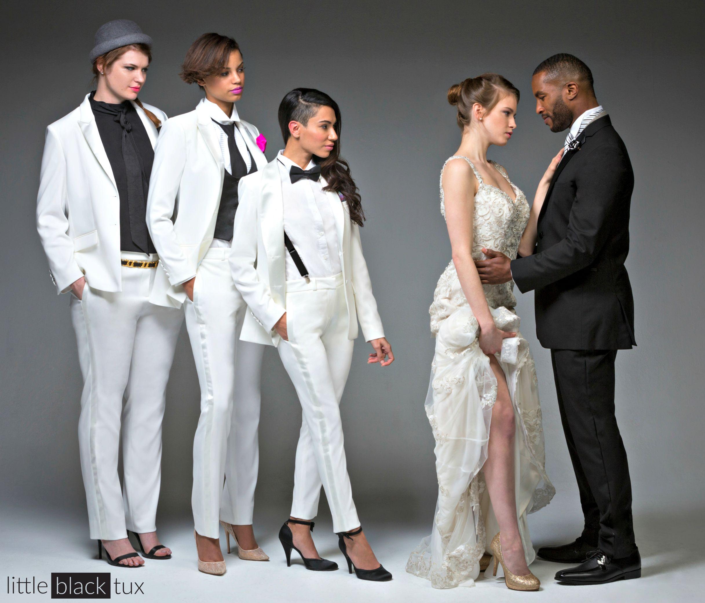 Women s Ivory Diamond White Tuxedo   Ladytux. Peak lapel 5e0775e41b