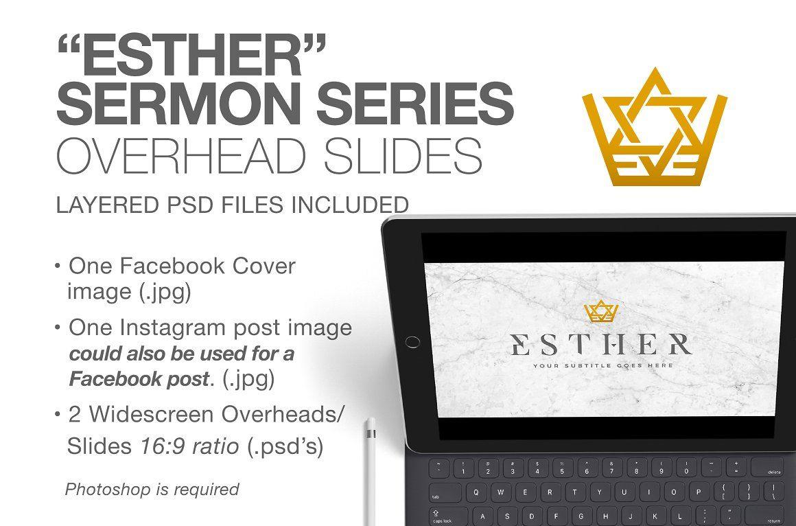 Esther Sermon Series Slides/Overhead Sermon series