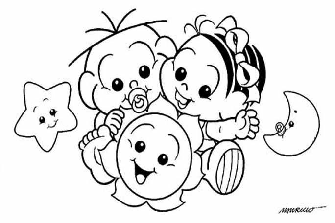 Magali Desenho Da Monica Desenhos Para Criancas Colorir