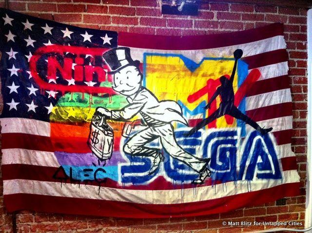 American Flag By Alec Monopoly Labs Art Art Show Art