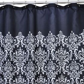 Vintage Antique Shower Curtain Curtains Printed Shower Curtain
