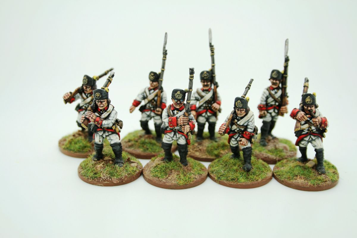 Trent Miniatures FRENCH FOOT ARTILLERY CREW FA01 28mm