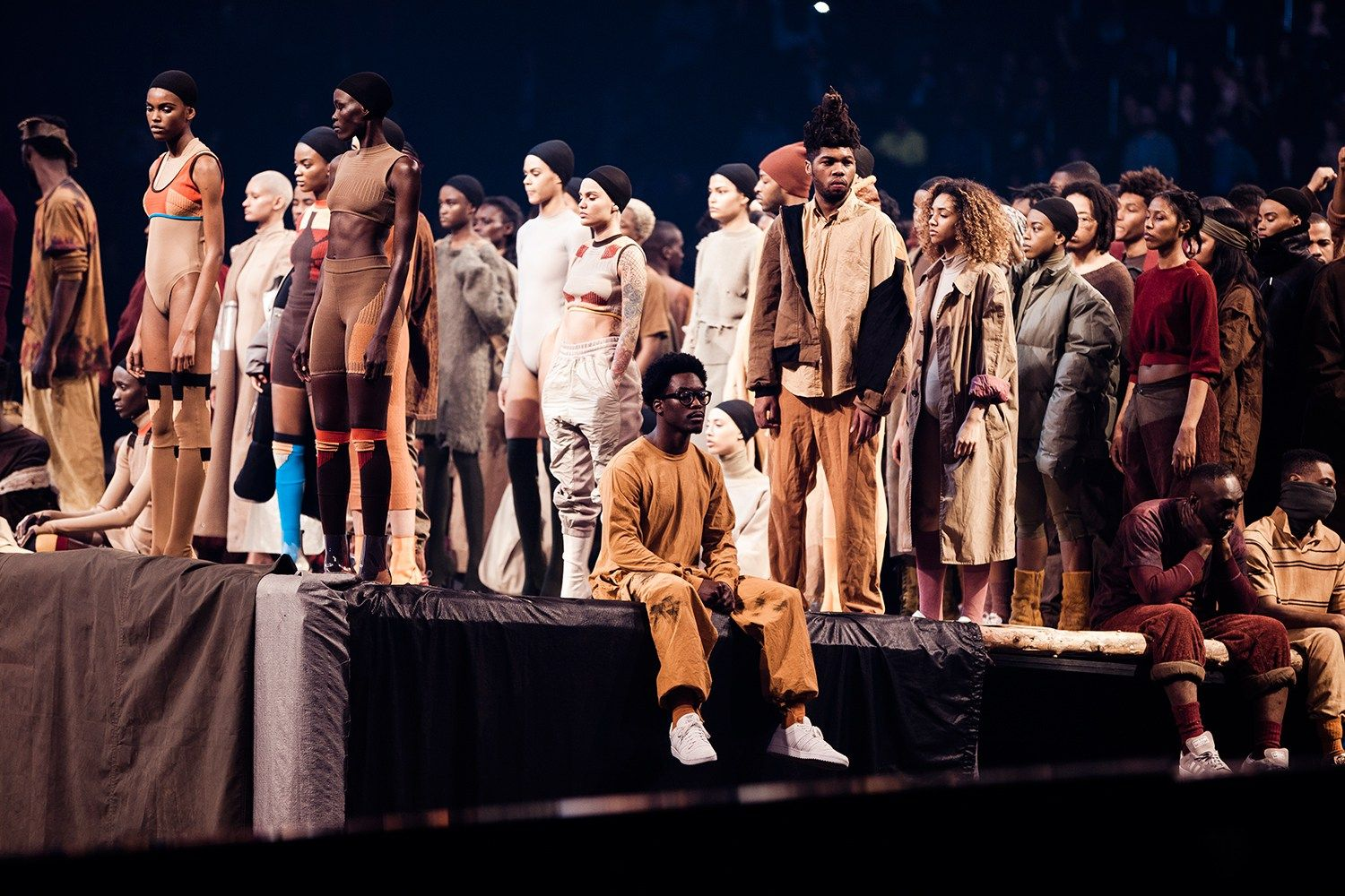 Kanye West Unveils Yeezy Season 3 At Madison Square Garden Yeezy Season Yeezy Season 3 Yeezy Season 2