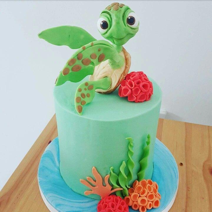 Sea Turtle Cakes Pinterest Turtle Cake And Birthdays