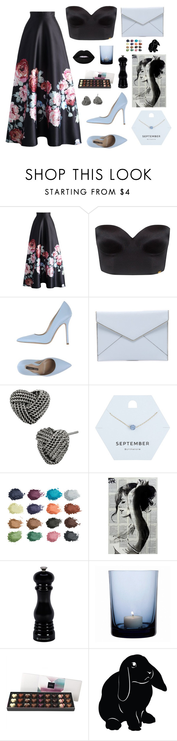 """Virgo"" by my-marvelou ❤ liked on Polyvore featuring Chicwish, Ultimo, Norma J.Baker, Rebecca Minkoff, Betsey Johnson, Miss Selfridge, Le Creuset, By Nord and Lime Crime"