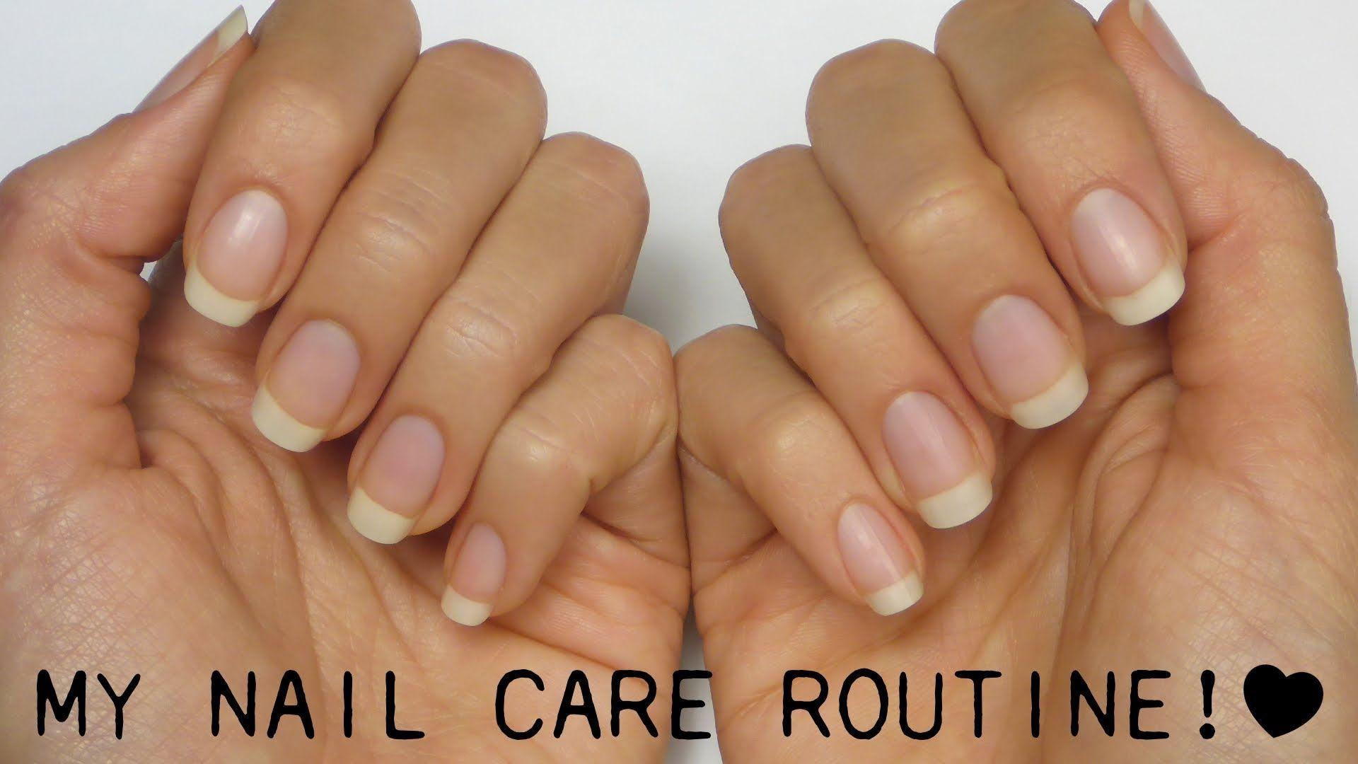 My Nail Care Routine!   Nails, nails, nails   Pinterest   Nail care ...