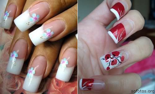 Unhas decoradas grandes perfect nails pinterest for Gradas decoradas
