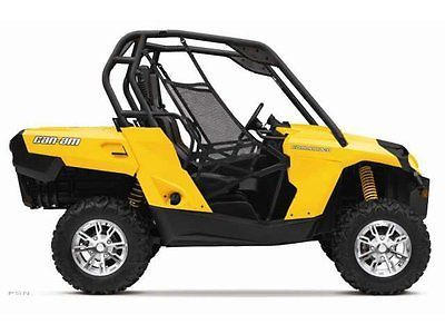 2013 Can Am Commander 800r Dps Side By Side Yellow Can Am Can Am Commander Atv