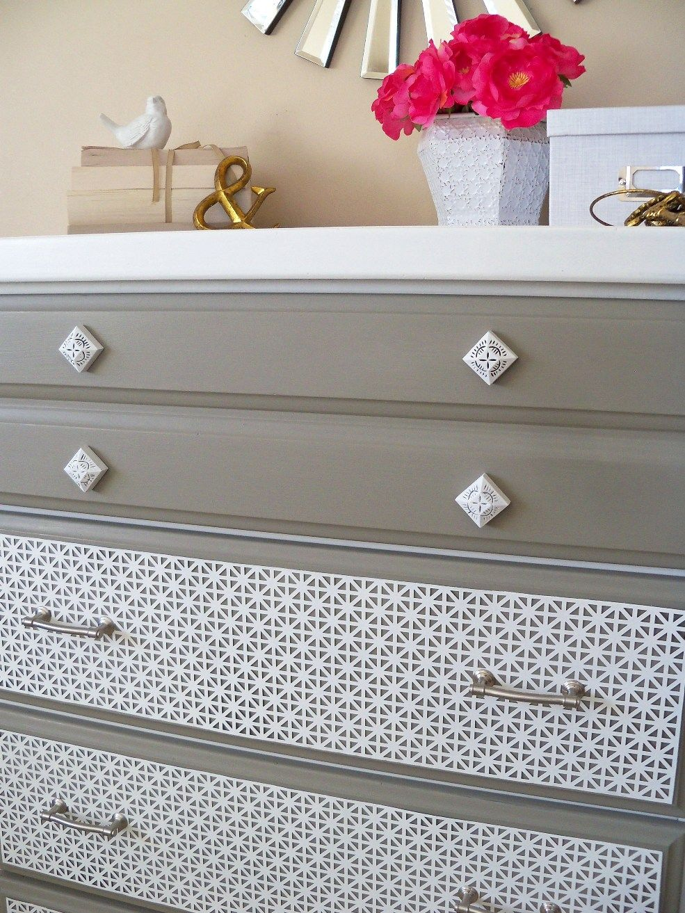 New Twist On An Old Dresser With Sheet Metal Furniture