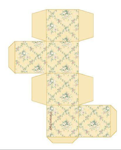 box dollhouse geschenkkarton f r das puppenhaus verpackungen pinte. Black Bedroom Furniture Sets. Home Design Ideas