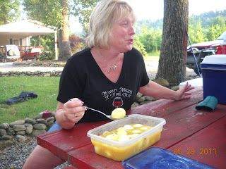 In Mama Joe's Shadow~'Cooking With Adele's' Best Recipes: BEV'S MUSTARD PICKLED EGGS with prepared mustard