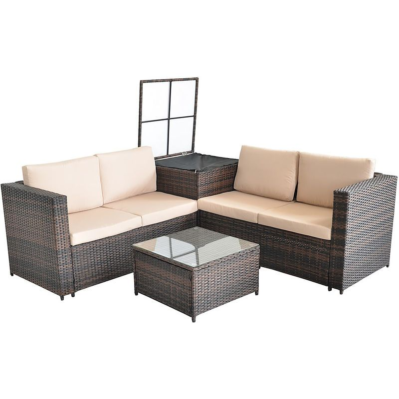 Salon De Jardin In 2020 Home Decor Outdoor Decor Outdoor Sectional