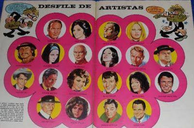 Yo fuí a EGB .Los años 60's y 70's.Álbumes y colecciones de cromos de los años 70.Primera parte.|yofuiaegb Yo fuí a EGB. Recuerdos de los años 60 y 70.