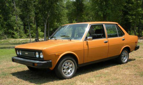 1976 Fiat Mirafiori 131s Met Afbeeldingen