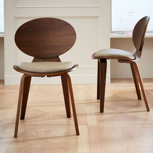 Leigh Leather Dining Chair   West Elm