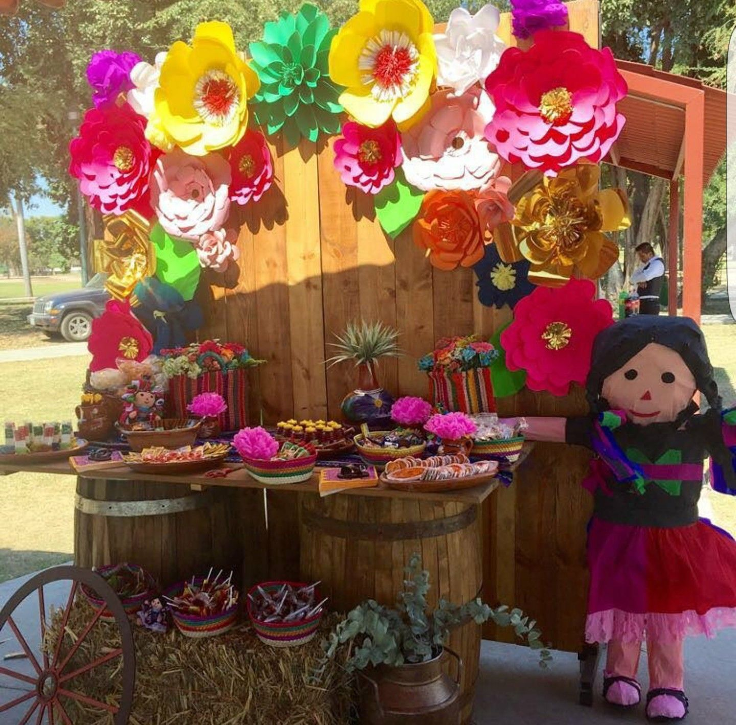 Pin by iris hernandez on fiesta mexicana pinterest for Decoracion kermes mexicana