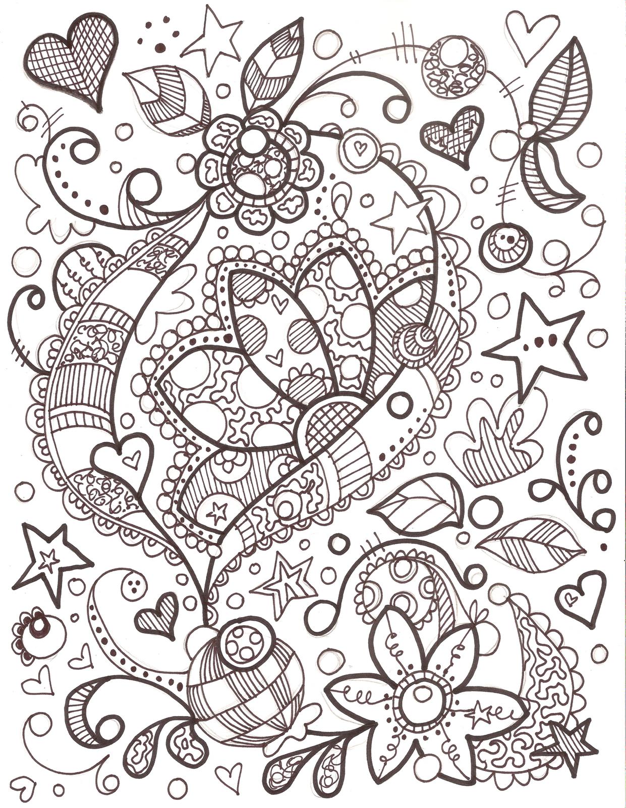 Pin By Gueli Weli Weli On Doodles Sharpie Doodles Doodle Coloring Flower Doodles