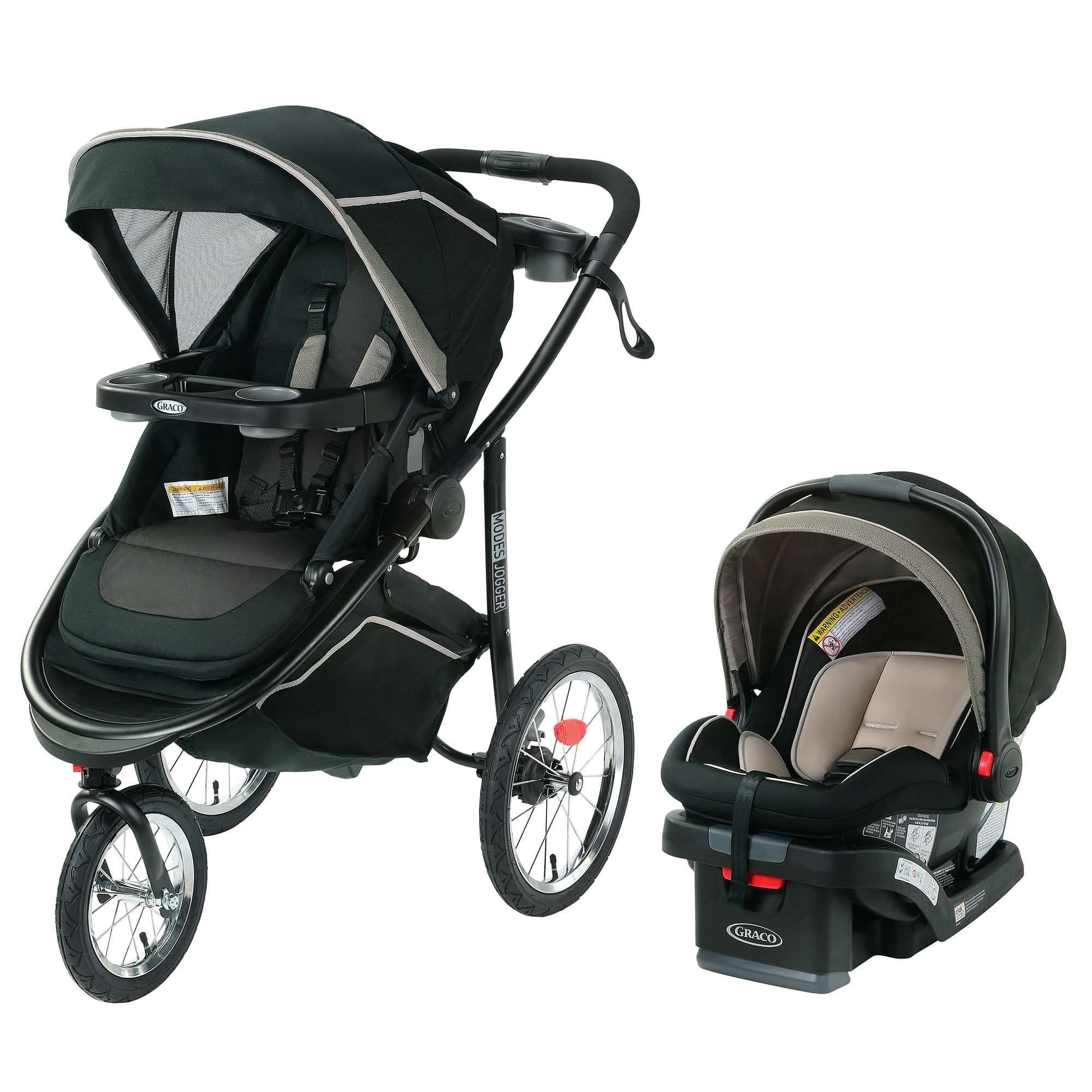 Graco Modes Jogger Travel System, Haven, Green Travel