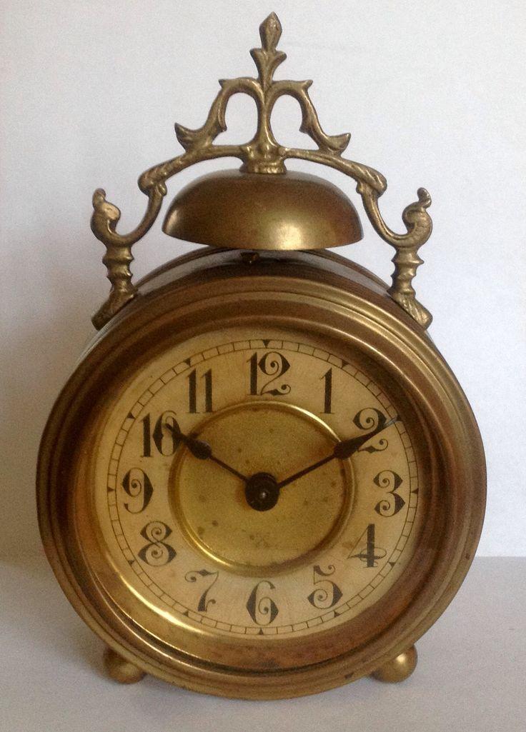 German alarm clock executed by Pfeilkreuz circa 1910 ...