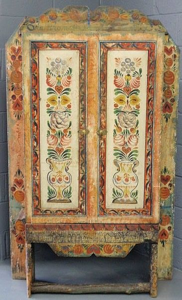 Another Peter Hunt Piece. Find This Pin And More On Decorative Painted  Furniture ...
