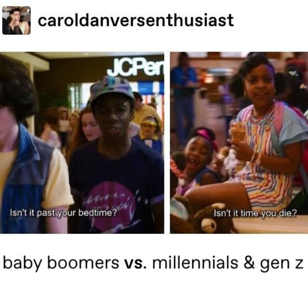 It Doesn T Even Matter If They Re Tlaking About Millennials Or Gen Z It S The Same Every F Ting Time Tumblr Funny Feminism Funny