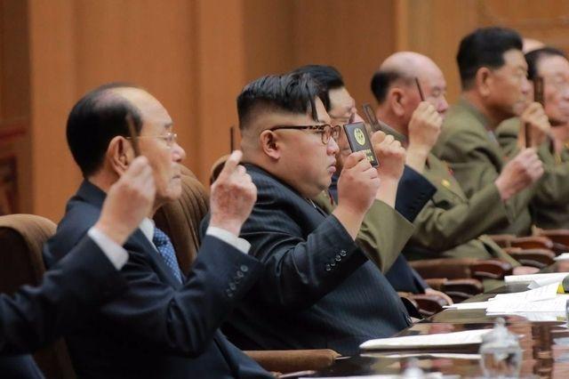 L'autorité de Kim Jong-un gravé dans le marbre