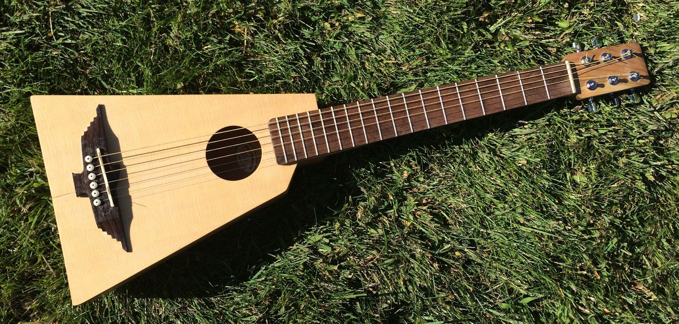 Handmade Travel Guitar Guitar Learn Guitar Guitar Building