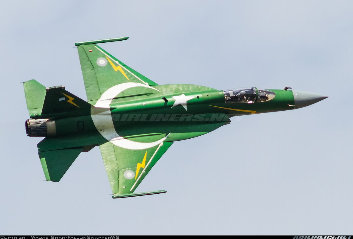 Pakistan Jf 17 Thunder Pakistan Air Force Aviation Photo