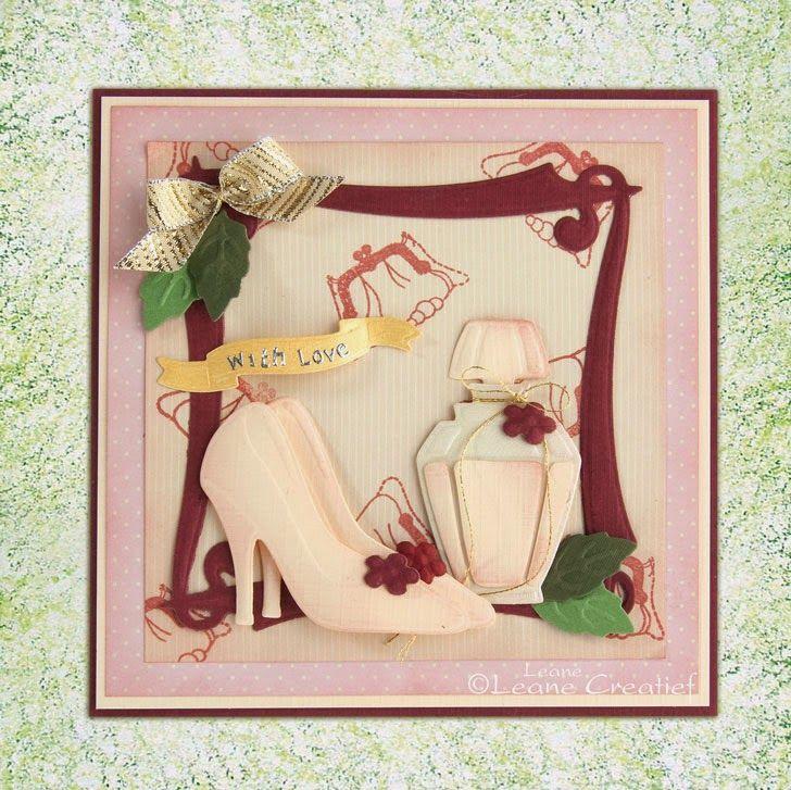 #leanecreatief #leabilities 45.9609 Frame elegant  45.9586 Ladies things  45.9425 Multi die blossom