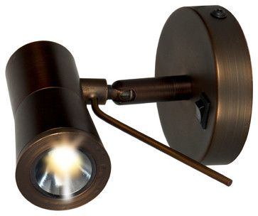 One Light Bronze  Directional Spot Light   Contemporary   Spot Lights   By We  Got Lites