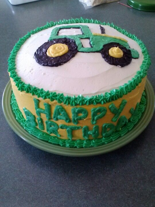 Birthday Cake For John : John Deere Birthday Cake. Cakes by Hillary :) Cakes by ...