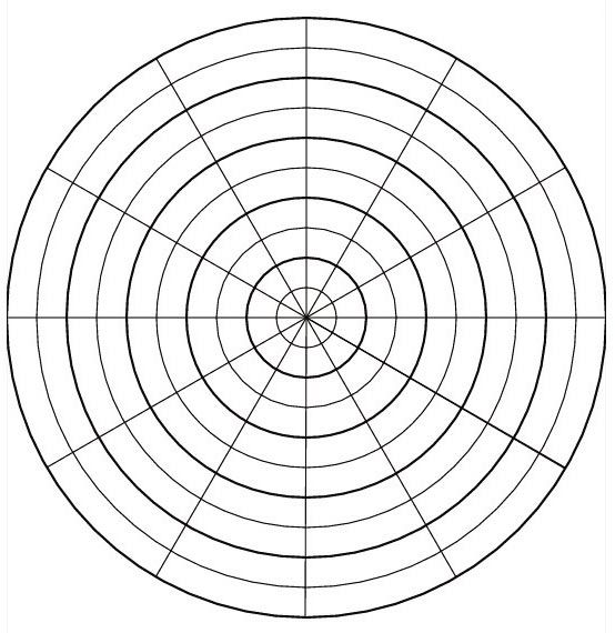 How Do Roots Grow When the Direction of Gravity Changes - blank grid chart