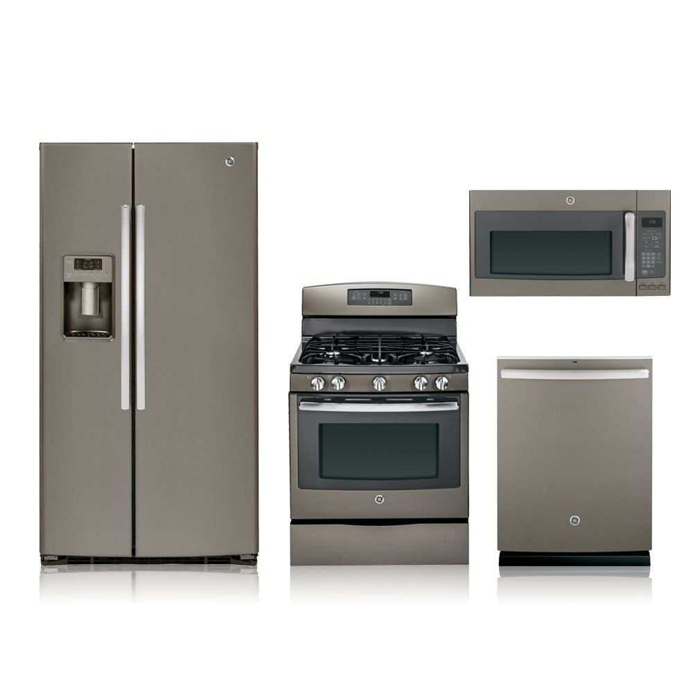 Uncategorized Gas Kitchen Appliance Packages 4 piece slate gas kitchen appliance package special remodeling special