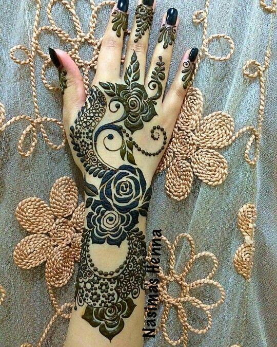 Muslim Mehndi Patterns : Best muslim wedding mehandi