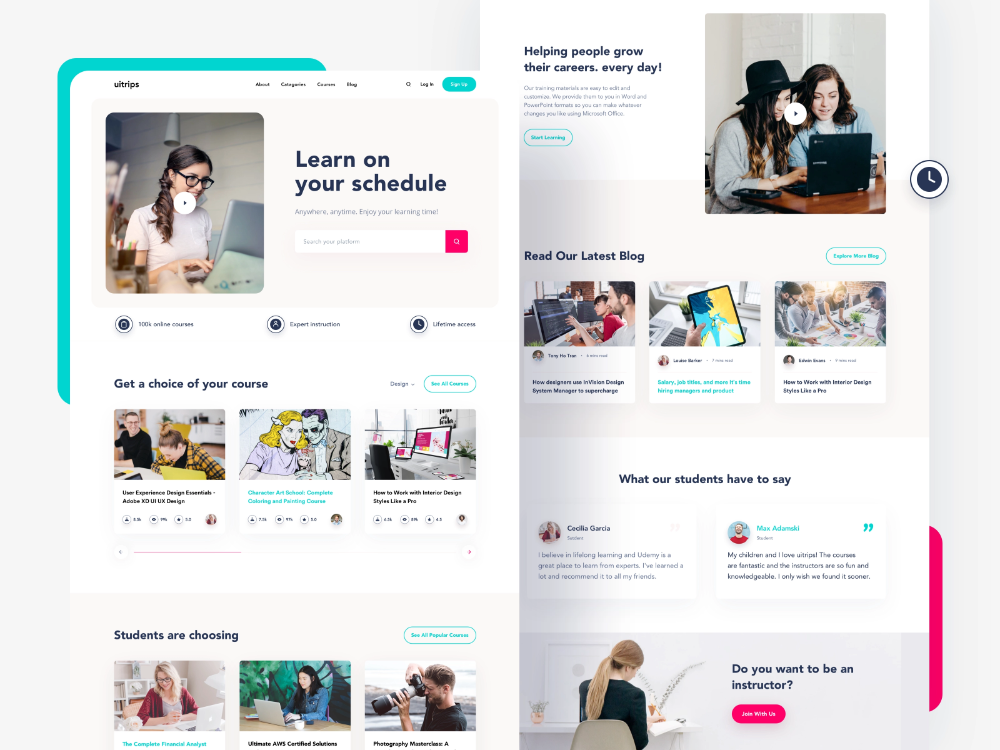 Pin By Mike Farley On Web Design Education In 2020 Online Learning Clean Web Design Web Design