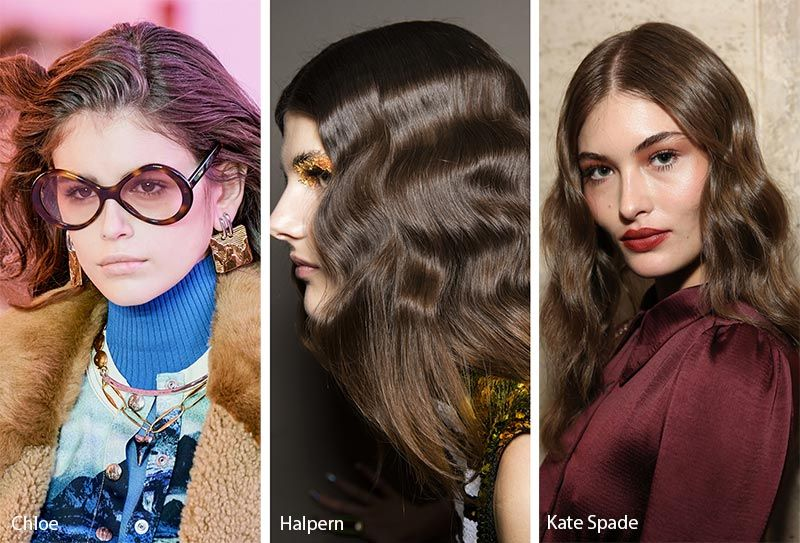 Winter 2020 Hair Trends.Fall Winter 2019 2020 Hairstyle Trends Brown Hair Colors