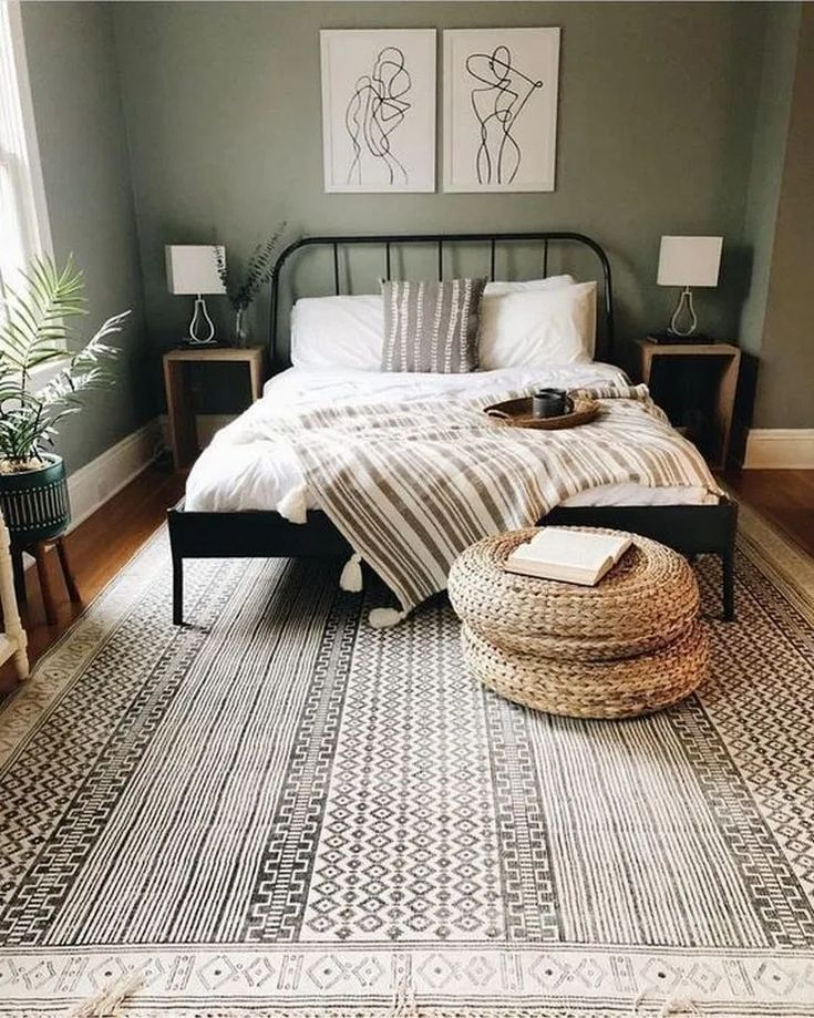 Unique beautiful brilliant scandinavian bedroom design ideas 38