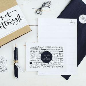 Kit lettering - Happy Letters