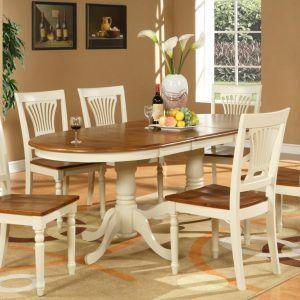 Large Oval Kitchen Table Sets  Httptvhss  Pinterest Delectable Oval Dining Room Table Set Review