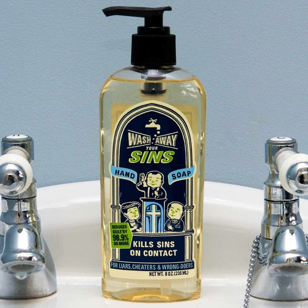 Wash Away Your Sins Hand Soap Soap, Boss christmas gifts