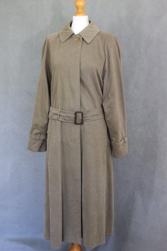 170984edb73432 AQUASCUTUM Ladies MAC   TRENCH COAT - Size UK 12 Reg