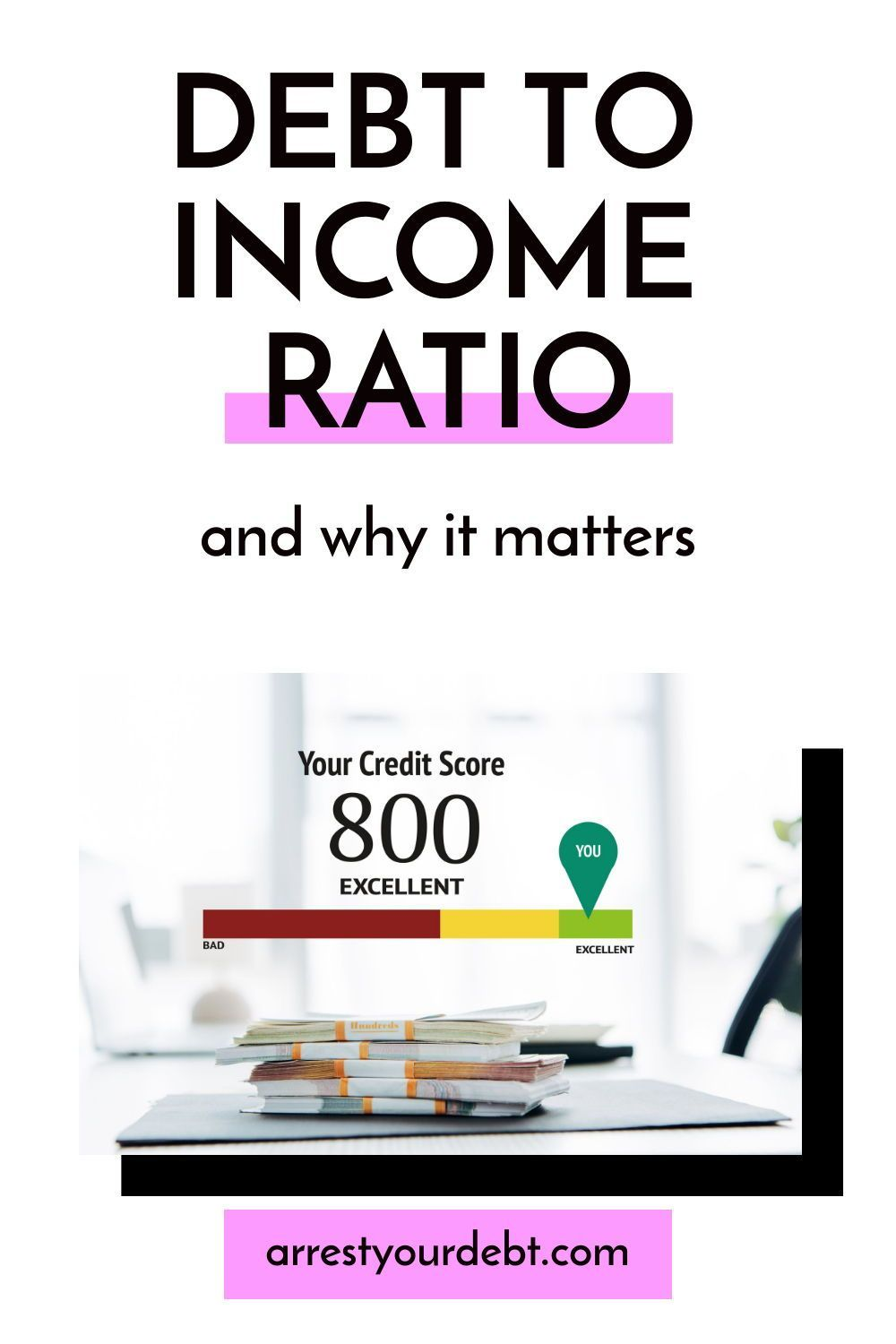 What Is Debt To Income Ratio And Why It Matters Arrest Your Debt In 2020 Debt To Income Ratio Debt Budget Help