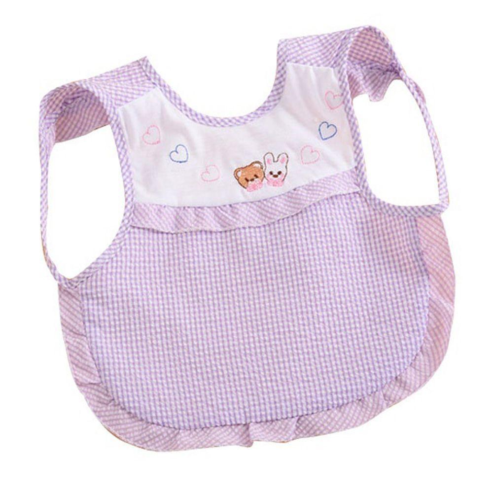 Baby Toddler Boys Girls Cotton Bibs Kids Children Saliva Burp Waterproof Apron