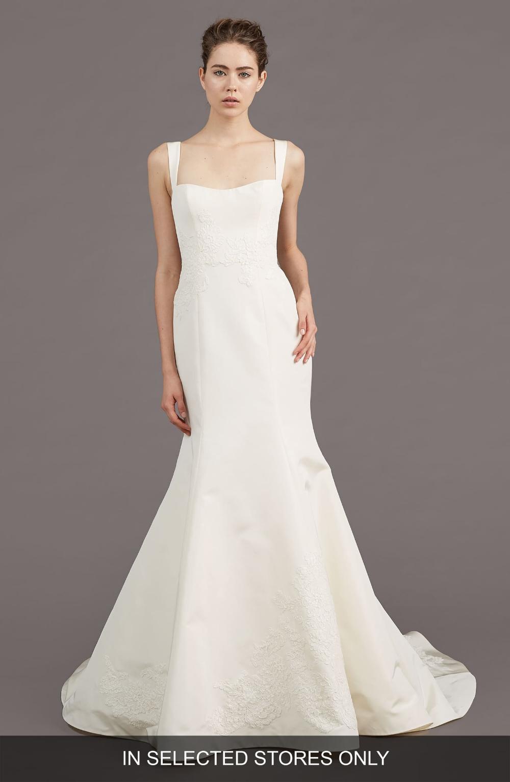 Amsale Mave Silk Blend Mermaid Gown Amsale wedding dress